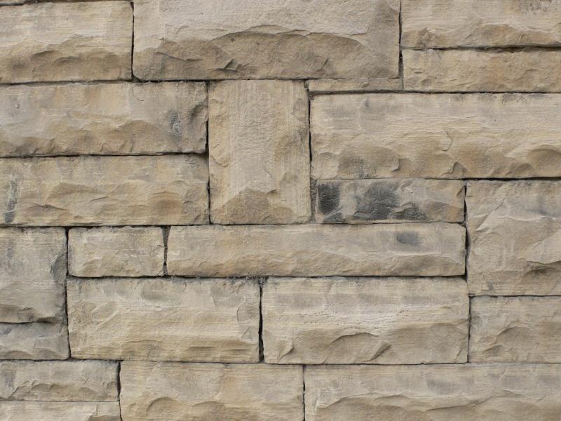kamenná zeď z pískovvce