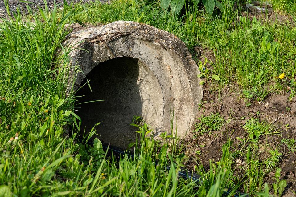 odpadní potrubí